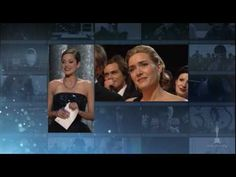 """Kate Winslet winning Best Actress for """"The Reader""""  Presented by former Oscar winners Marion Cotillard, Nicole Kidman, Halle Berry, Shirley MacLaine and Sophia Loren. 81st Annual Academy Awards®."""
