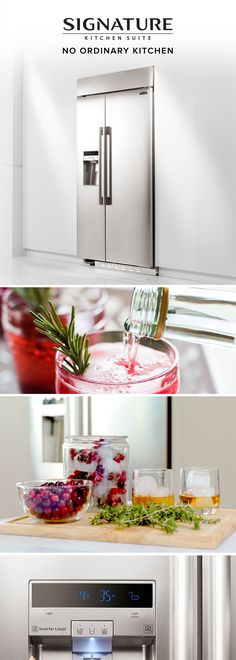 Thanks to our inventive SmartSpace System,™ our refrigerator offers more interior capacity than most other same-size refrigerators. And three additional cubic feet means extra space to hold all the delicious ingredients you'll need for your next dinner extravaganza. The adjustable shelves also enable you to personalize your space for everything - from eggnog to flavored ice cubes.