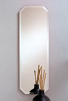 Oblong Rectangle Wall Mirror  16 X 48 >>> Read more  at the image link.