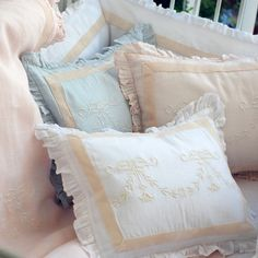 Pom Pom at Home Belle Linen Pillow Sham - Final Sale @LaylaGrayce