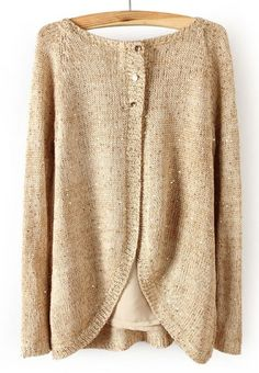 The back detailing on this sweater is really cute