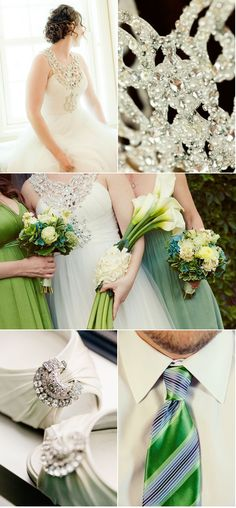 Love the dress colors and the flowers...
