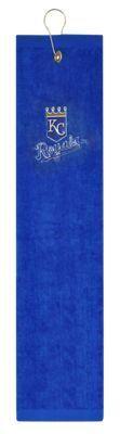 McArthur Sports MLB Embroidered Tri-Fold Golf Towel - Kansas City Royals