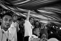 »Aqui tem um Bando de Louco …« – im Block von Corinthians im Estádio do Pacaembu in São Paulo. © Alois Gstöttner
