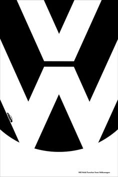 Volkswagen Ads Use Logo And Negative Space To Promote Car Features - DesignTAXI.com