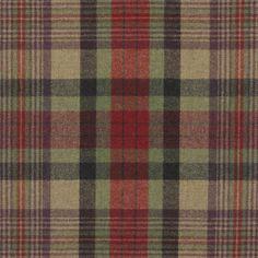 Duncanson Plaid – Highland - Plaids & Checks - Fabric - Products - Ralph Lauren Home - RalphLaurenHome.com
