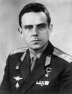 1967-04-24 Vladimir Komorov cosmonaut of Soyuz 1 - Gave his life pushing the envelope