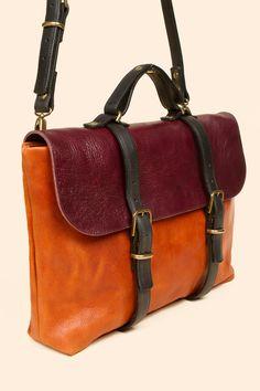 Steve Mono Oscar Shoulder Strap Briefcase