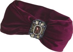 Her Curious Nature - Ruby Deco Turban