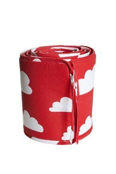 Farg Form Bumper with Cloud Print (Red)