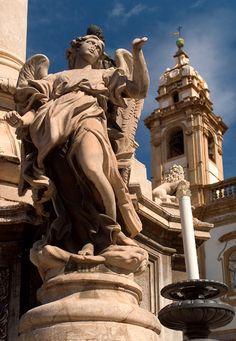 Italy - Sicily - Palermo - Piazza Domenico
