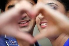 Together... now... and forever... #Love #Couple #PreWedding #Photoshoot #Heart #Blue #Indian #Cute #Smile #Photography