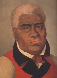 Kamehameha I, ca. 1758 – May 8, 1819), also known as Kamehameha the Great, conquered the Hawaiian Islands and formally established the Kingdom of Hawaiʻi in 1810.  Born at Kapakai Kokoiki Heiau, Kohala, Hawaiʻi (Big)  Island. Hawaiian legends claimed that a great king would one day unite the islands, and that the sign of his birth would be a comet. Halley's comet was visible from Hawaiʻi in 1758 and it is likely Kamehameha was born shortly after its appearance.