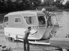 Combo Cruiser houseboats were were built by Ship-A-Shore Corp, Mishawaka, IN in the late sixties.