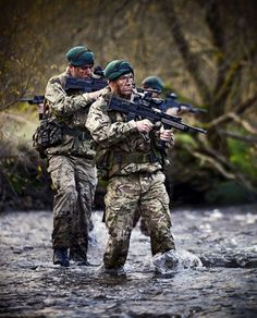 Royal Marines from 43 Commando conducting low-level training in and around Glen Fuin Scotland.