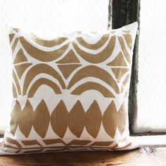 Image of Leif 16 x 16 Throw Pillow Cover Leah Duncan
