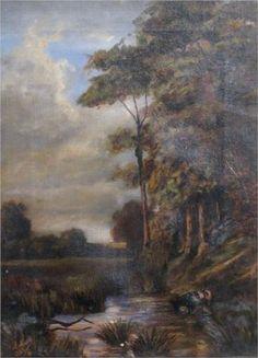 Landscape - Stefan Luchian Art Database, Impressionism, Painting Inspiration, Art Nouveau, Arts And Crafts, 1 Februarie, Landscapes, Paintings, Artworks