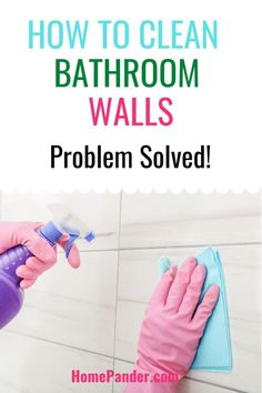 We will discuss how to clean bathroom walls the right way in today's article. #bathroom #cleaning #bathtub #home #cleaninghack #tilesclean Bathroom Cleaning Hacks, House Cleaning Tips, Deep Cleaning, Cleaning Supplies, Organizing, Organization, Lazy People, Best Cleaning Products, Professional Cleaning