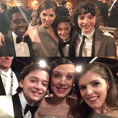 The amazing kids from Stranger Things wanted to meet me and NOT Justin Timberlake and I'm going to pretend that's because they like me more, not because they didn't see him. #alsoJusticeForBarb