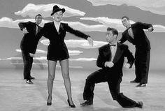 Judy Garlandand friends in Summer Stock (Charles Walters, 1950)