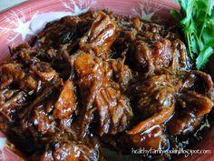 Healthy Family Cookin': Pressure Cooker Sweet Pork