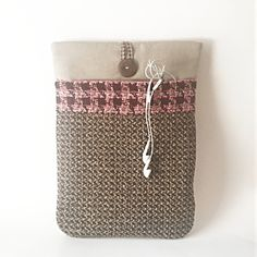 Items similar to MacBook Sleeve, MacBook Air Sleeve, MacBook Pro Sleeve, MacBook Case MacBook Air Case Mac Book Pink Houndstooth Wool + Linen on Etsy Macbook Air Sleeve, Macbook Air 13 Inch, Macbook Pro Case, Mac Book, Houndstooth, Cases, Wool, Trending Outfits, Unique Jewelry