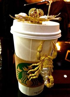 Blinged out Starbucks cup?
