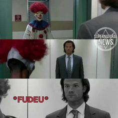 To be continued ➡️ Spn Memes, Funny Memes, Supernatural Series, Netflix, Best Series, Sam Winchester, Crazy People, Superwholock, Funny Comics