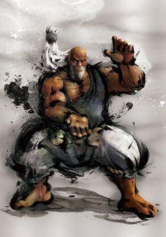 Street Fighter - Gouken