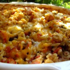 Louisiana Crawfish Casserole