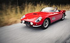 For when money truly is no longer an issue, 250GT California LWB. Not to store, but to drive