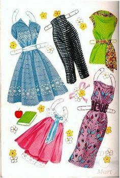 Sandra Dee Paper Dolls 1959 - 5