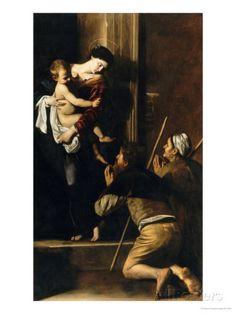 caravaggio madonna cei pellegrini - Cerca con Google