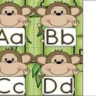 These cute little monkey themed word wall headers would make a great addition to a jungle themed classroom. You get 26 alphabet letter word wall he...