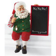 Chalk It Up Possible Dreams Santa Figure