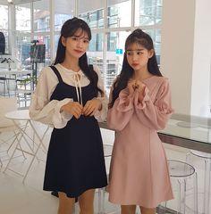 Korean Style Asian Style Korean Fashion Asian Fashion Street Style Street Fashion Cute Chifon Dress From Yesstyle.com  #koreanstyle #koreanfashion #streetfashion #streetstyle #koreanfashion #ulzzang #asianfashion #korean