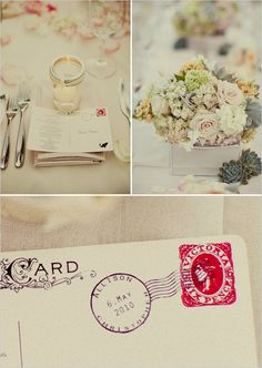 vintage wedding decorations | featured on weddingchicks com photos courtesy of wedding chicks ...