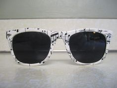 musical note sun glasses