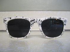 musical note sun glasses