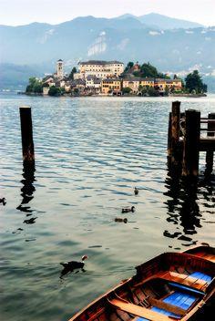 San giulio, Lago d'orta, province of Novara , Piemonte region, Italy #WonderfulPiedmont #WonderfulExpo2015