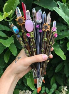 Wand Lavenderwhisp's Witch Types Master Post (Jan Diy And Crafts, Crafts For Kids, Arts And Crafts, Resin Crafts, Resin Art, Witch Wand, Baby Witch, Witch Aesthetic, Bijoux Diy