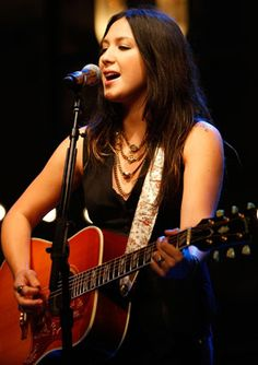 Michelle Branch - The one who inspired me to start playing the guitar and I'm glad I did learn it and I'm proud to say that it's because of her. She'll always be one of my most favorite musicians of all time.