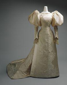 Wedding Dress Jean-Philippe Worth, 1896 The Metropolitan Museum of Art