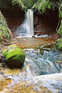 Zvardu waterfall Latvia