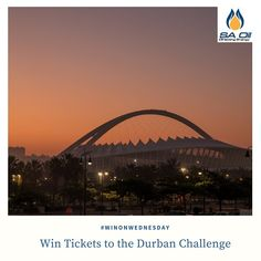 Win tickets to the Durban Challenge at Moses Mabhida with SA Oil!
