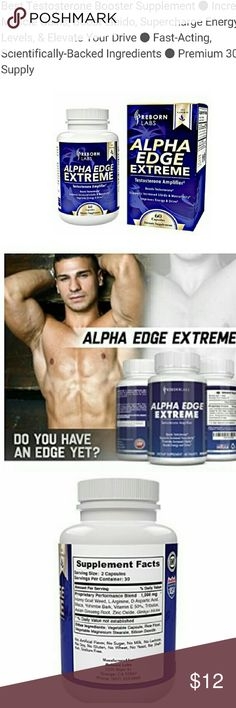 Best Testosterone Booster Supplement Alpha Edge Extreme provides the solution you're looking for to naturally increase testosterone. Alpha Edge Extreme is an advanced natural testosterone booster for MUSCLE GROWTH and LIBIDO specially designed to maximize your testosterone levels. By increasing the rate of protein synthesis, increased testosterone can help build muscle faster and speed up recovery reborn labs Other