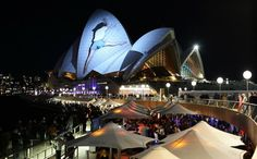 Sydney Opera House Transforms Into Living Canvas - My Modern Metropolis