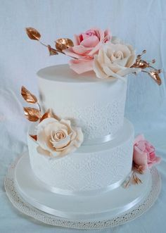 Wedding rose by alenascakes