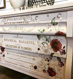 Diy Furniture Decor, Decoupage Furniture, Country Furniture, Furniture Making, Furniture Makeover, Painted Furniture, Upcycled Home Decor, Vintage Home Decor, Repurposed