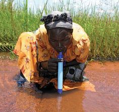 The LifeStraw removes a minimum of 99.9999% of waterborne bacteria and filters up to 1000L of contaminated water. The LifeStraw contains no chemicals, no batteries and no moving parts to wear out.